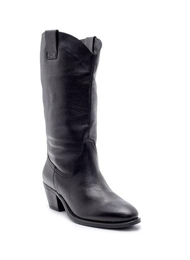 Derimod Kadın Çizme (19045) Casual Siyah